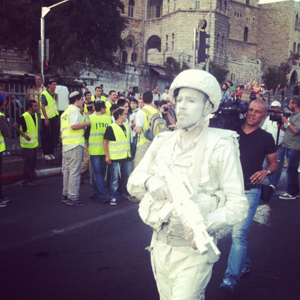 ''White Soldiers,'' Jerusalem Day, 2012