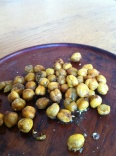These chickpeas are representative of chickpeas and are not meant to resemble any specific chickpeas from said falafel place or elsewhere anywhere