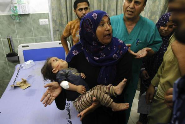 The IDF's Collateral Damage. Photo: AFP.