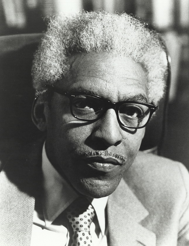 Bayard Rustin. Credit: Digital Collections, Chicago Urban League Records, University of Illinois at Chicago Library